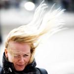 Sturm in Rotterdam, Niederlande (Keystone/EPA/Robin Utrecht)
