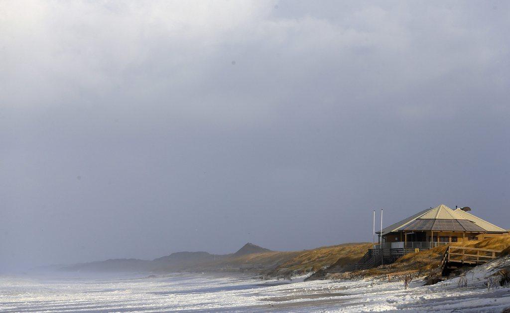 Wellen vor Sylt, Deutschland (Keystone/EPA/Axel Heimken)
