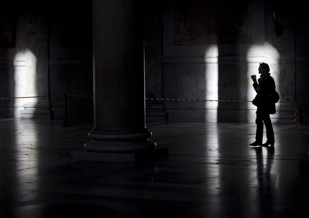 In einer Basilika in Rom Italien (AP Photo/Alessandra Tarantino)