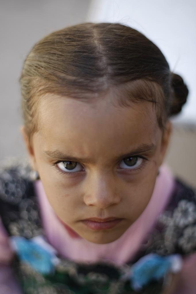 Ein Mädchen im Jemen, Sanaa (AP Photo/Hani Mohammed)