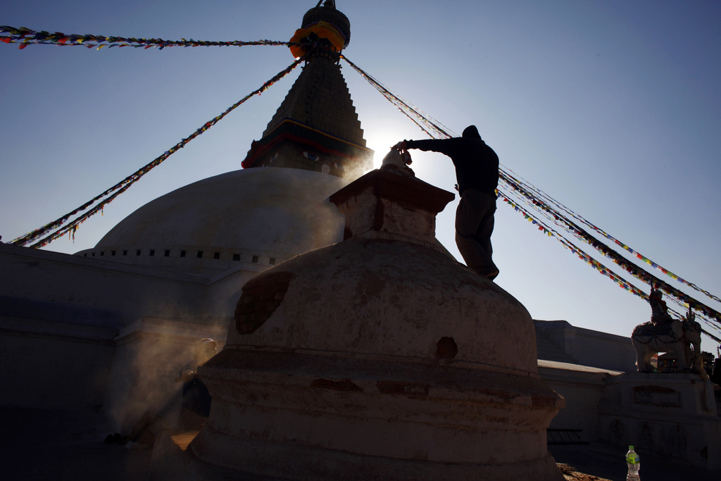 Katmandu, Nepal (Keystone/AP Photo/Niranjan Shrestha)