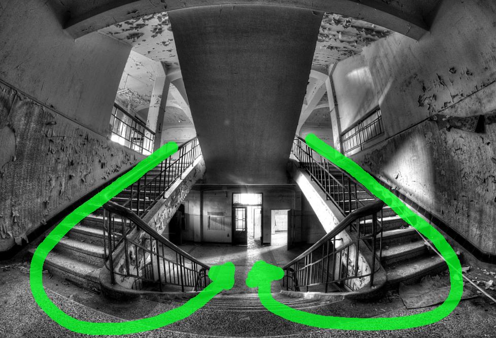 Komposition: Blickfuehrung