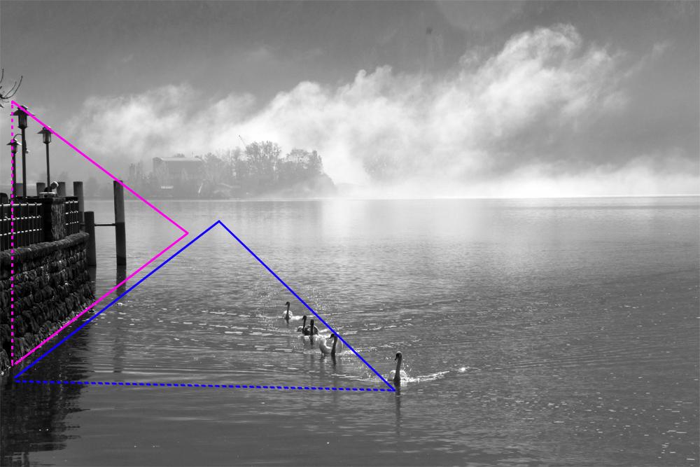 Komposition: Konstruktive Dreiecke