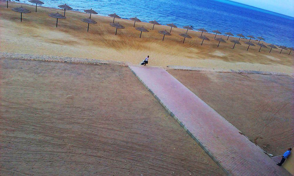 Strandfoto aus Aegypten