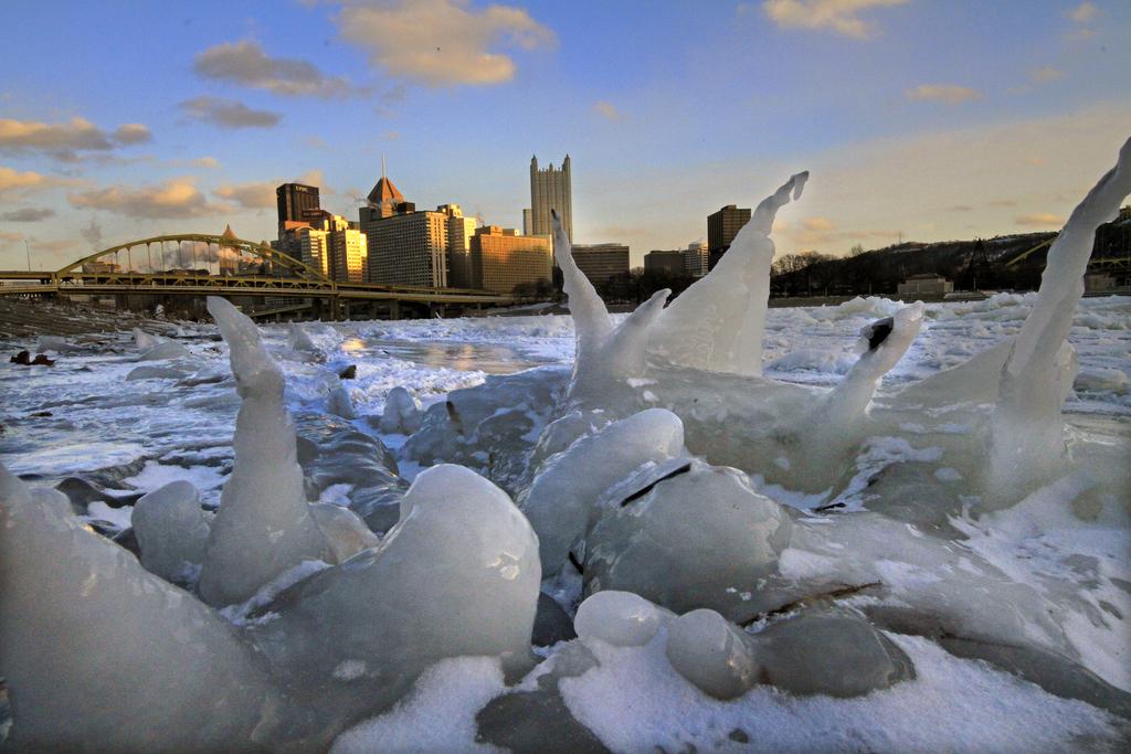 Skyline von Pittsburgh, USA (Keystone/AP Photo/Gene J. Puskar)
