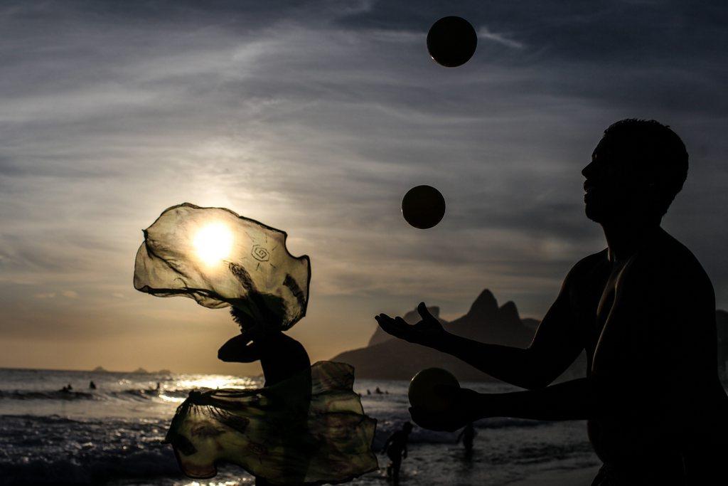 Sommer in Rio de Janeiro, Brasilien (Keystone/EPA/Antonio Lacerda)