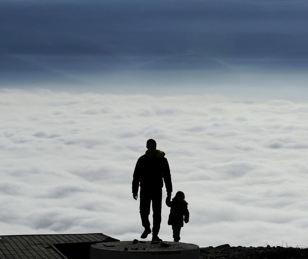 Wanderung in Skopje, Mazedonien (Keystone/AP Photo/Boris Grdanoski)