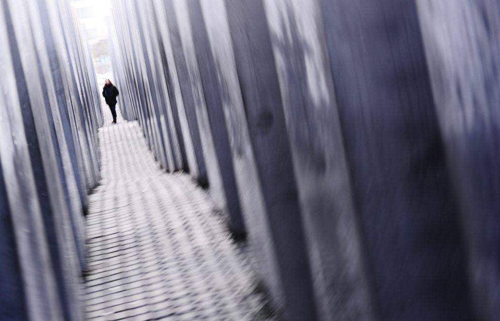 Das Holocaust Mahnmal in Berlin, Deutschland (Keystone/EPA/Nicolas Armer)