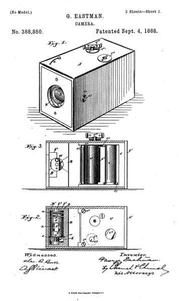 Bild 3: Kodak Nr. 1 (Quelle: Wikipedia)