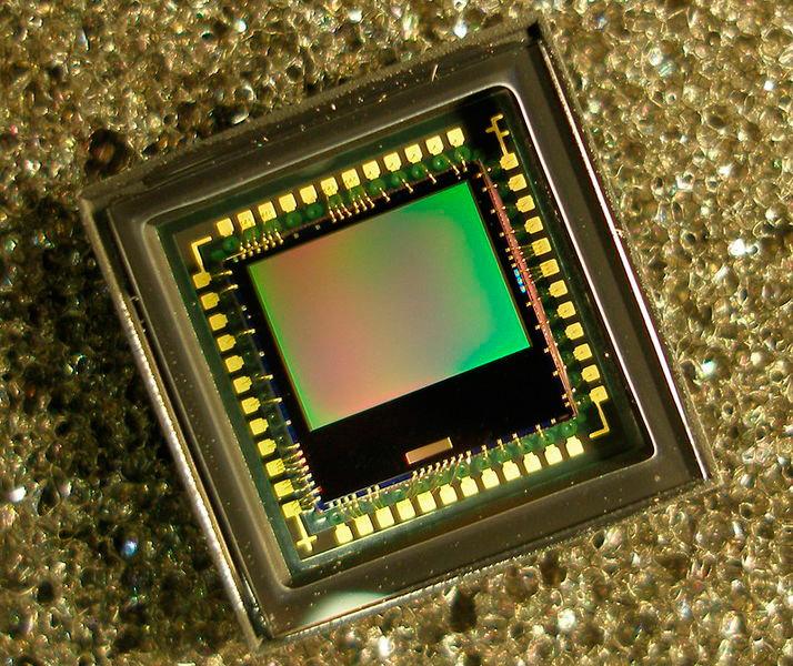 Bild 10: CMOS-Bildsensor (Quelle: Wikipedia)