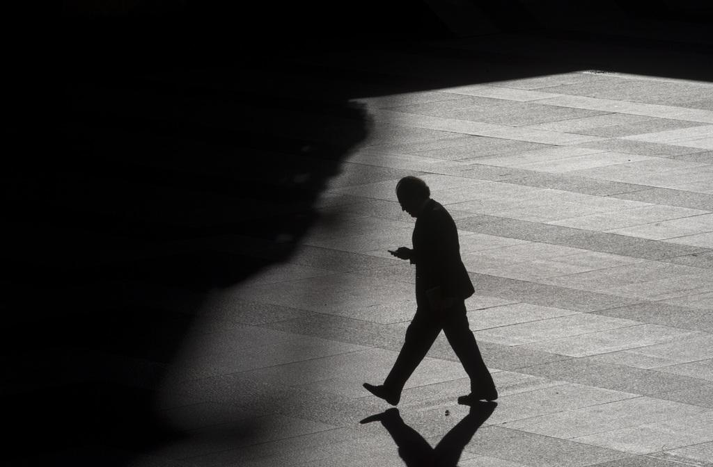 Passant in Madrid, Spanien (Keystone/AP Photo/Paul White)