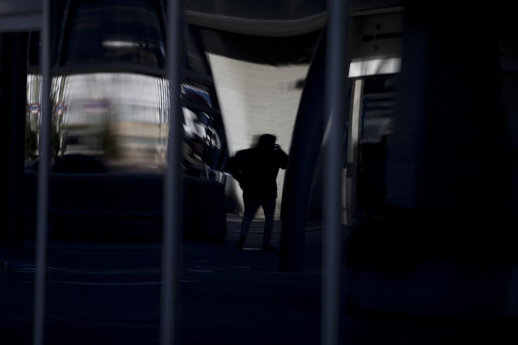 Spiegelung im Geschäftsviertel von Madrid, Spanien (Keystone/AP Photo/Paul White)