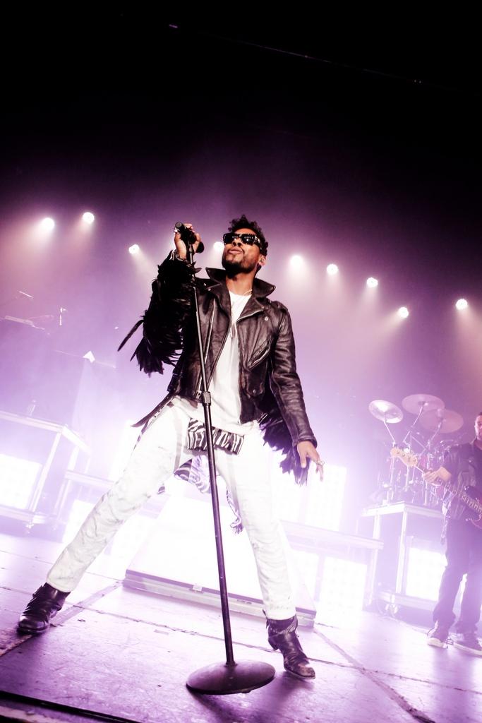Miguel in Los Angeles, USA (Keystone/AP/Alexandra Wyman)