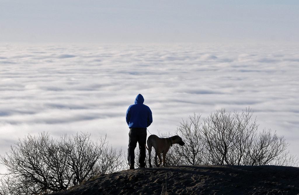 Aussicht auf das Treasure Valley, USA (Keystone/AP Photo/Adam Eschbach)