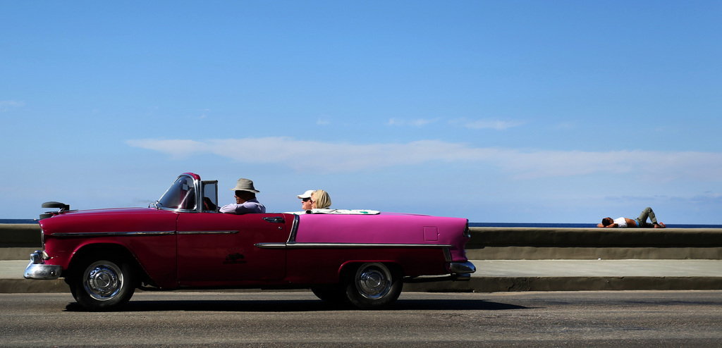 Kuba-Feeling für Touristen, Havanna  (AP Photo/Desmond Boyland)