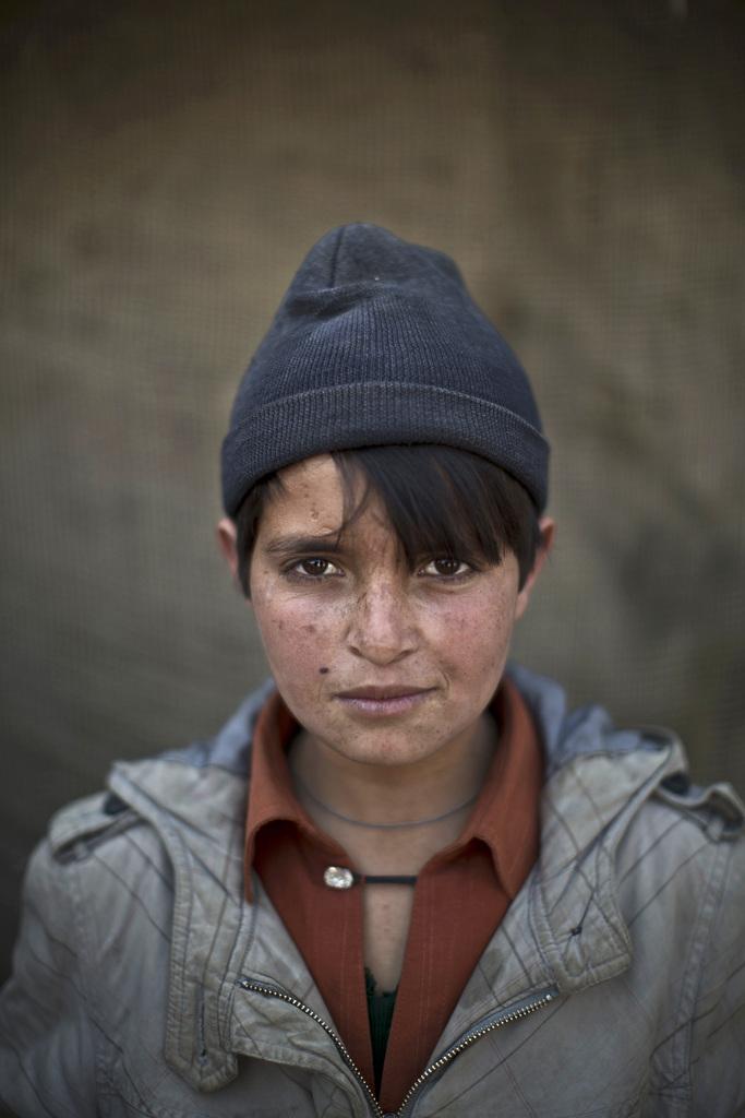 Serie - afghanische Flüchtlingskinder: Abdulrahman Bahadir, 13; Islamabad Pakistan (AP Photo/Muhammed Muheisen)