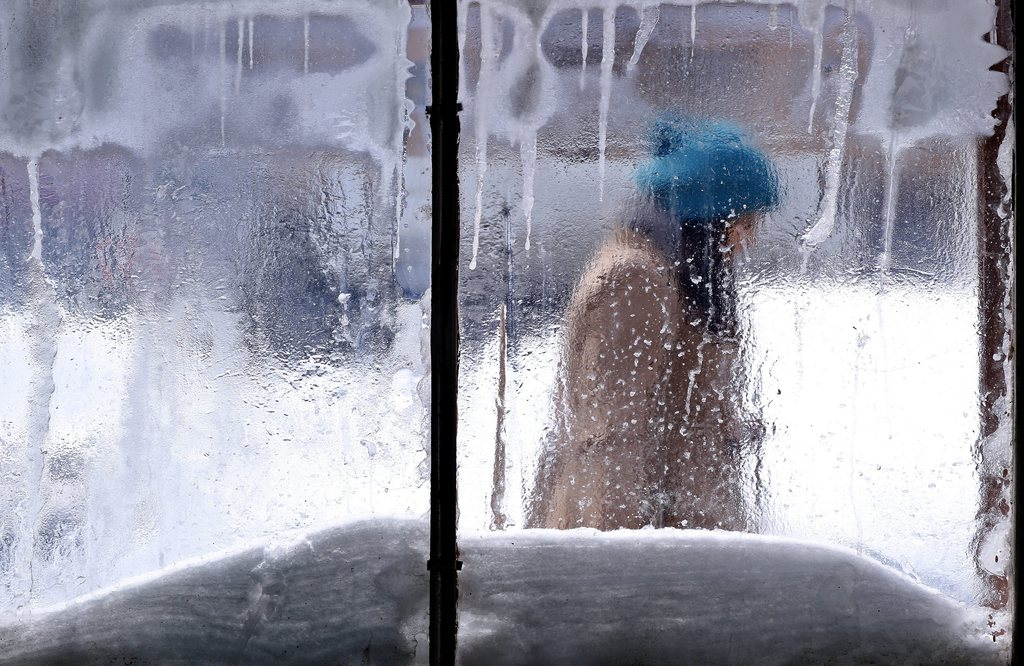 Winter in Bukarest, Rumänien (Keystone/EPA/Robert Ghement)