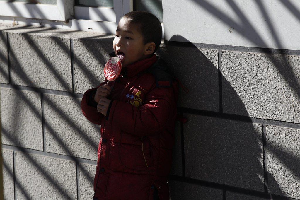 Lollipop bei den Feierlichkeiten zum chinesischen neuen Jahr, Beijing China EPA/ROLEX DELA PENA