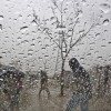 Regen in Islamabad, Pakistan (Keystone/AP Photo/Muhammed Muheisen)