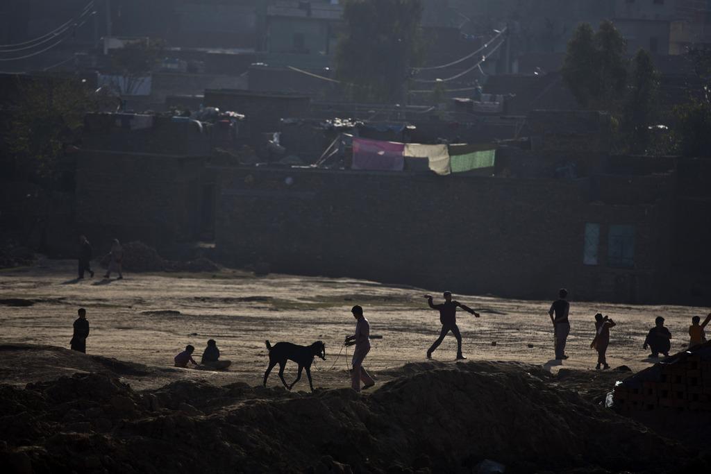 Kinderspiele, Rawalpindi, Pakistan Photo/Muhammed Muheisen)