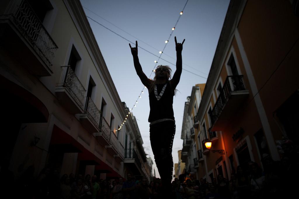 Zirkusfest in Puerto Rico  (AP Photo/Ricardo Arduengo)