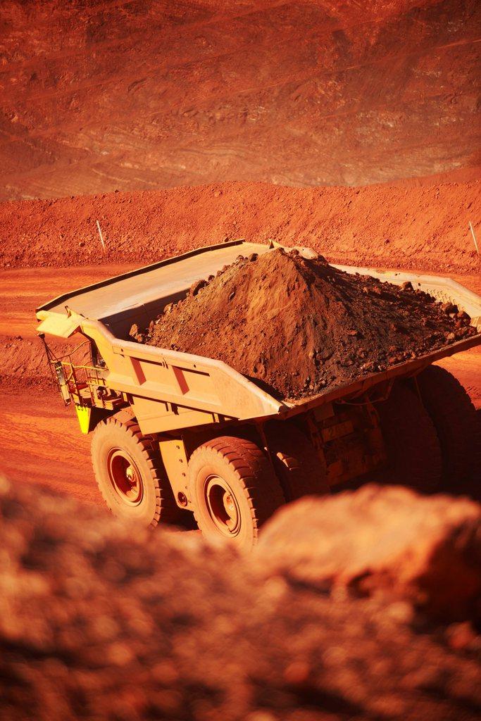 In einer Mine in Australien EPA/BHP BILLITON