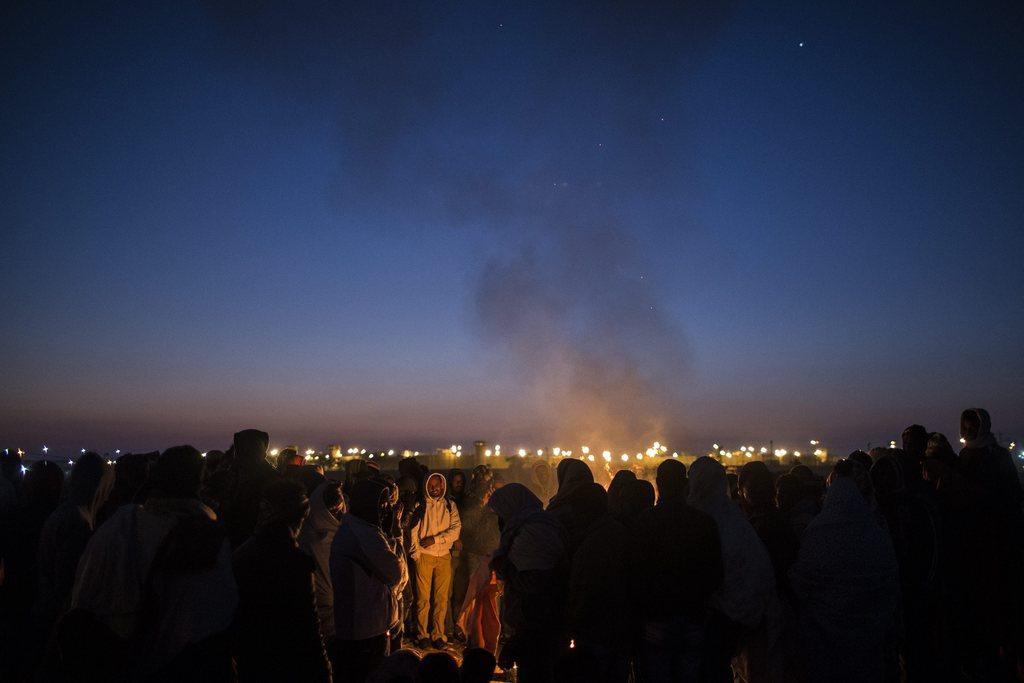 Asylsuchende Afrikaner, Negevwüste, Israel  EPA/OLIVER WEIKEN