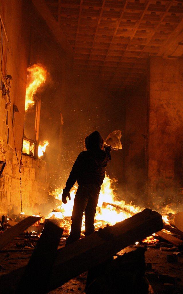 Proteste in Kiew, Ukraine (Keystone/EPA/Alexey Furman)
