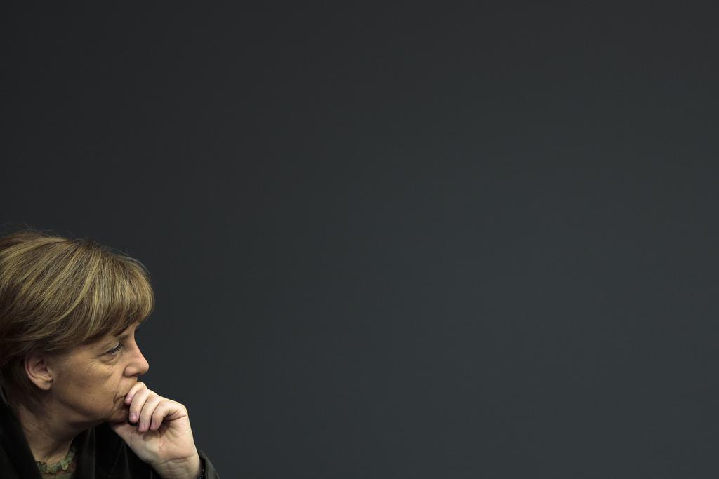 Angela Merkel in Berlin, Deutschland (Keystone/AP Photo/Markus Schreiber)