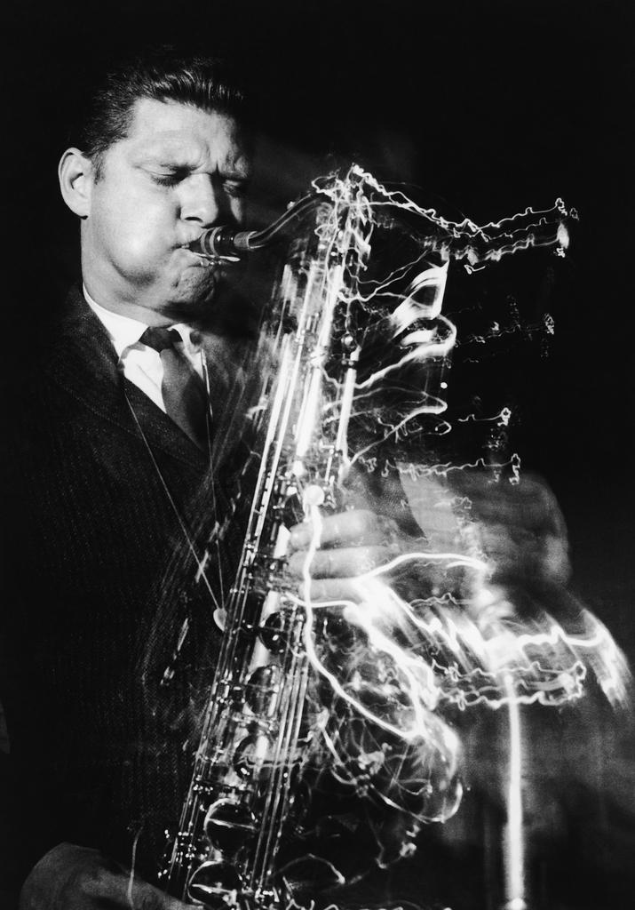 Jazz-Foto aus den Sechzigern: Saxophonist Zoot Sims  (Bruce Fleming/AP Images)