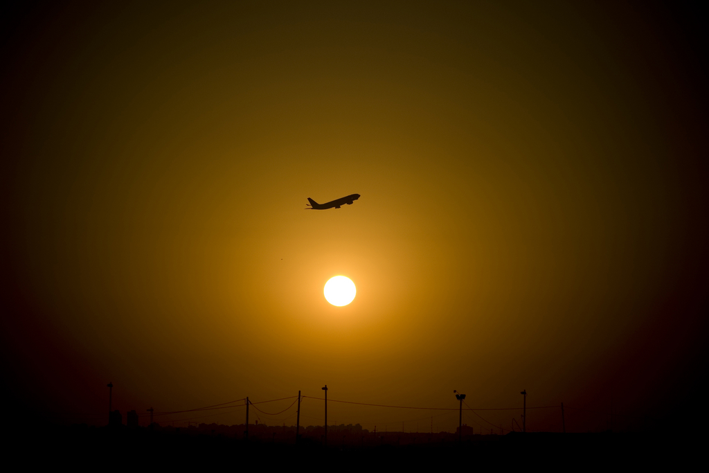 Abflug in Tel Aviv, Israel (Keystone/AP Photo/Ariel (Schalit)