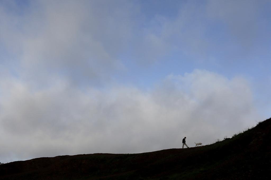 Spaziergang in San Francisco, USA (Keystone/AP Photo/Jeff Chiu)