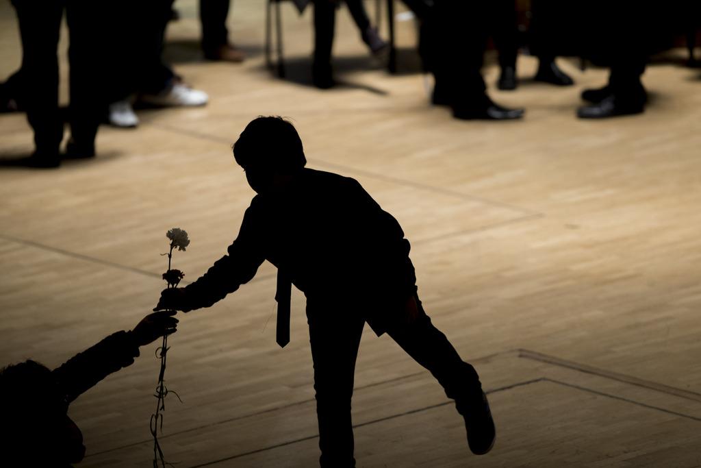 Trauer um Paco de Lucia in Madrid, Spanien (Keystone/AP Photo/Andres Kudacki)