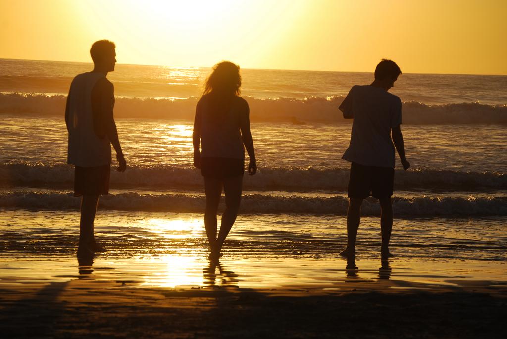 Am Strand von Nosara, Costa Rica (Keystone/AP Photo/Kristina MacKulin)
