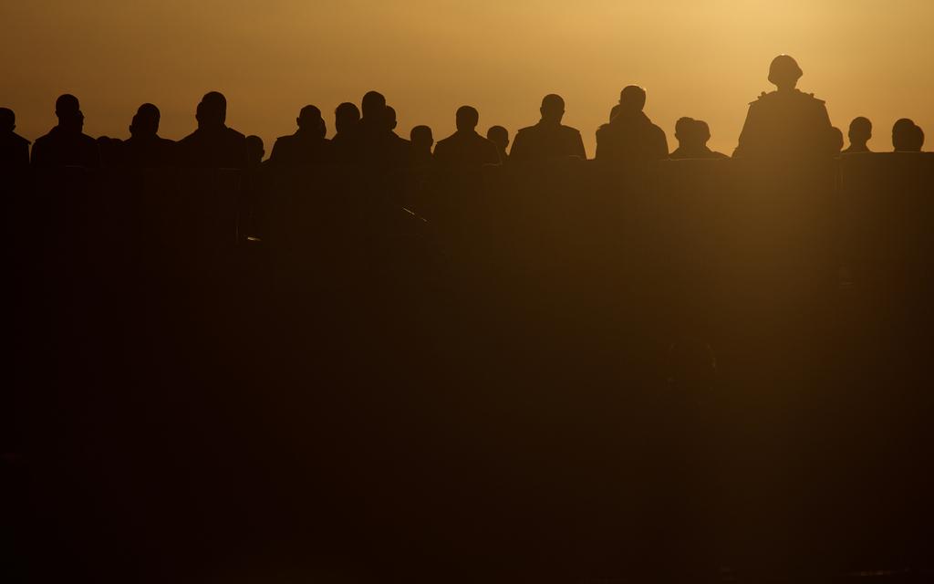 Sonnenuntergang in Sevastopol, Ukraine (Keystone/AP Photo/Ivan Sekretarev)