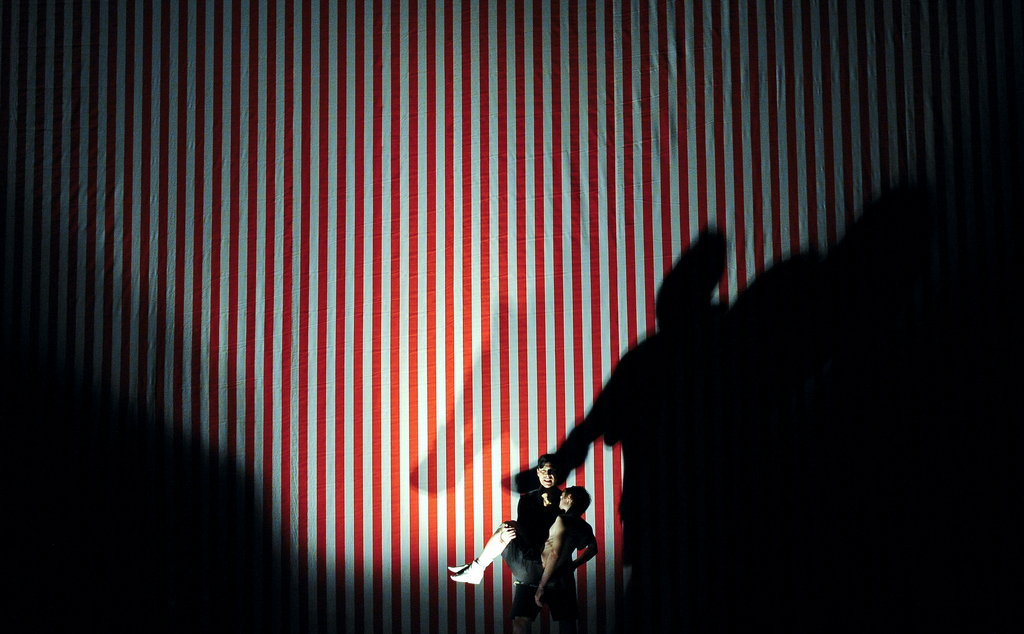 Fotoprobe am Burgtheater in Wien, Österreich (Keystone/APA/Herbert Neubauer)