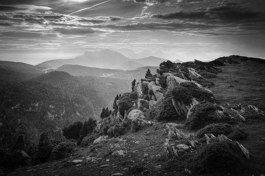 Abb. 9: Eigenes Portfolio, 'Col de la Pierre Saint-Martin, Pyrenäen'