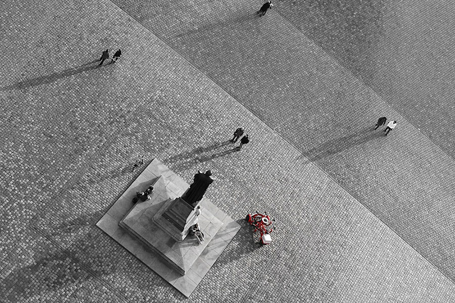 Abb. 20: Dominik Haitz, 'Neumarkt Dresden'