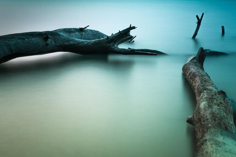 Abb. 22: Alexander Dewor, 'Abendliche Stille am See'