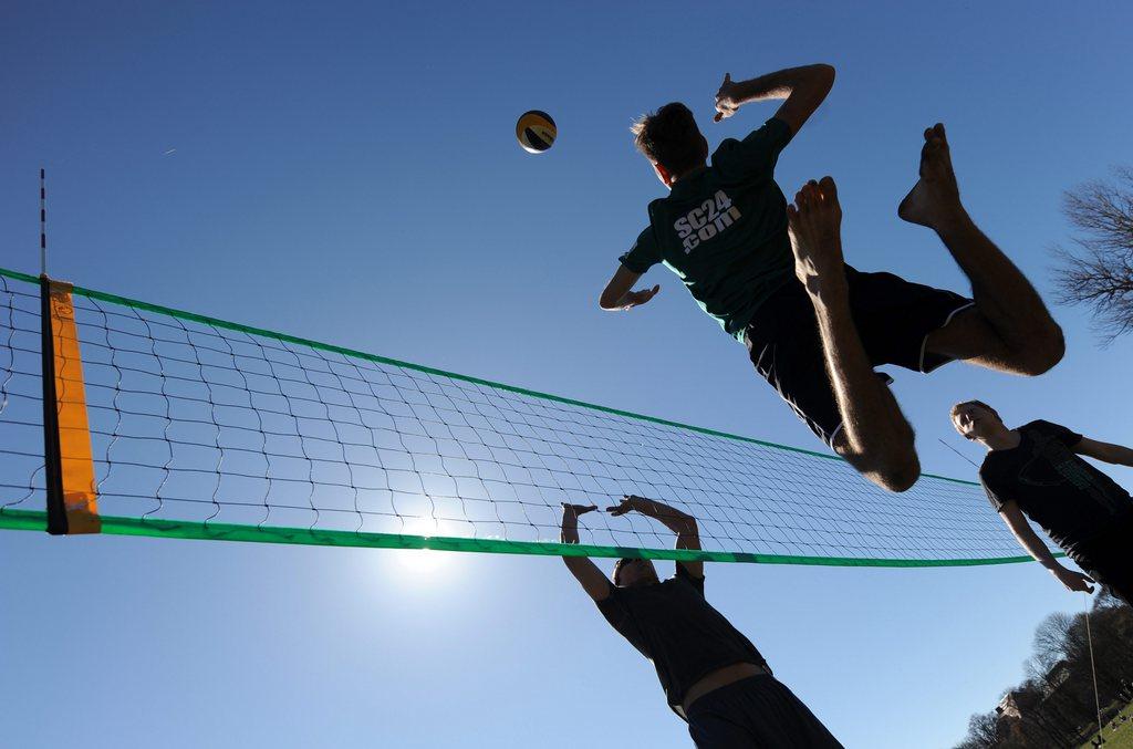 Volleyball in München, Deutschland (Keystone/EPA/Andreas Gebert)
