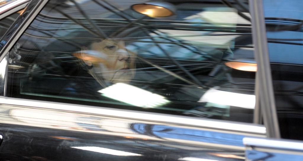 Angela Merkel in Brüssel, Belgien (Keystone/AP Photo/Eric Vidal)