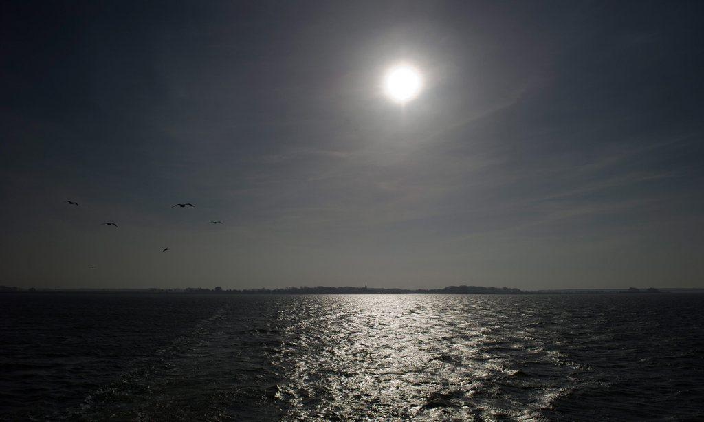 Frühlingssonne über Rügen, Deutschland (Keystone/EPA/Stefan Sauer)
