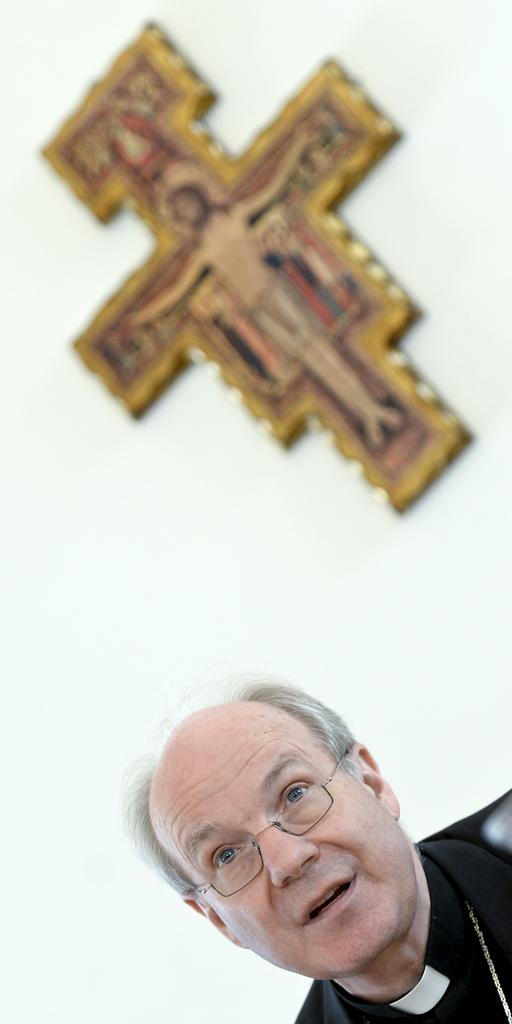 Christoph Schönborn in Wien, Österreich (Keystone/APA-Foto/Herbert Neubauer)