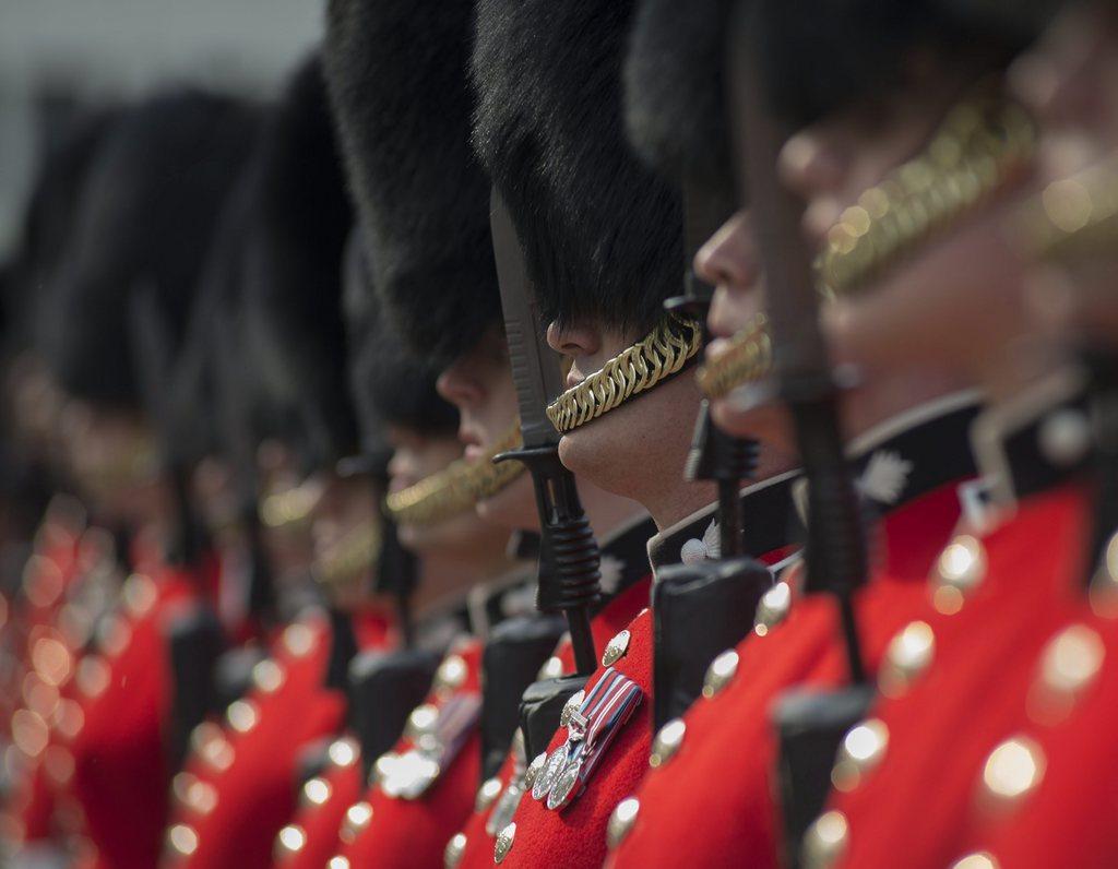 Garde in London, Großbritannien (Keystone/EPA/Mark Larner)