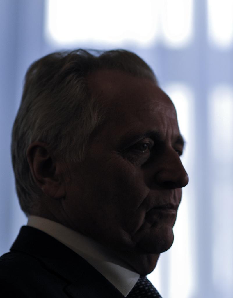 Politikerporträt in Wien, A: Rudolf Hundstorfer, APA-FOTO: HERBERT NEUBAUER