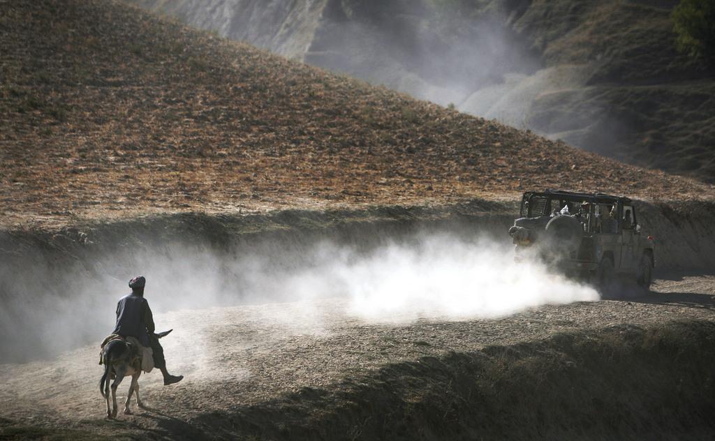 Vor Kunduz, Afghanistan (Keystone/AP Photo/Anja Niedringhaus)