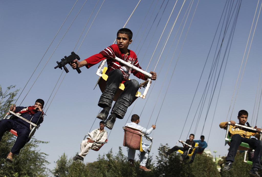 Volksfest in Kabul, Afghanistan (Keystone/AP Photo/Anja Niedringhaus)