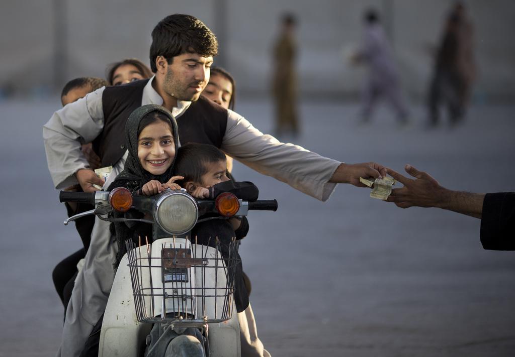Auf der Straße von Kandahar, Afghanistan (Keystone/AP Photo/Anja Niedringhaus)