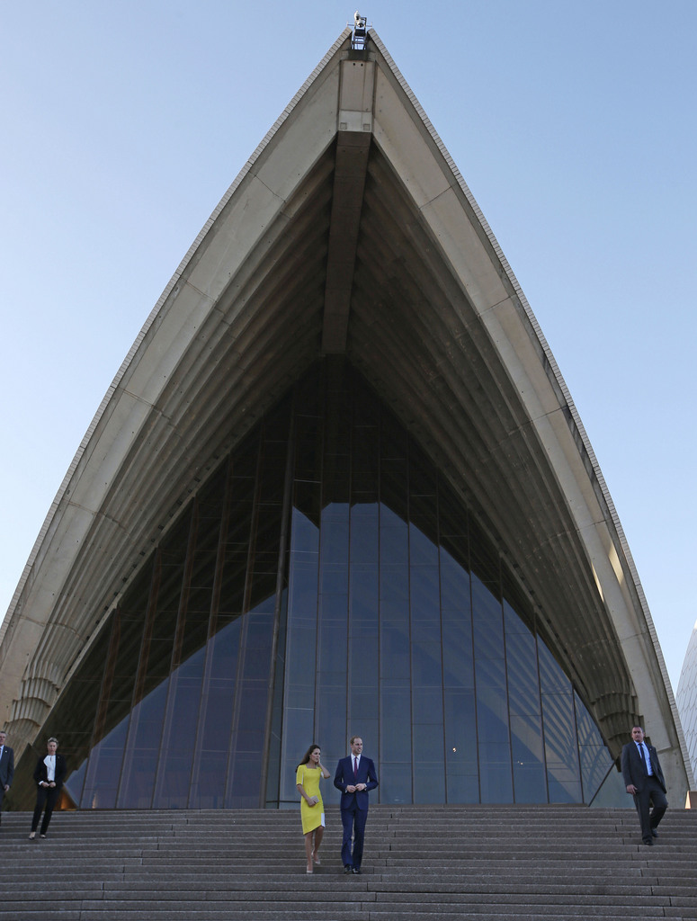 Adel in Sydney, Australien (Keystone/AP Photo/Rick Rycroft)