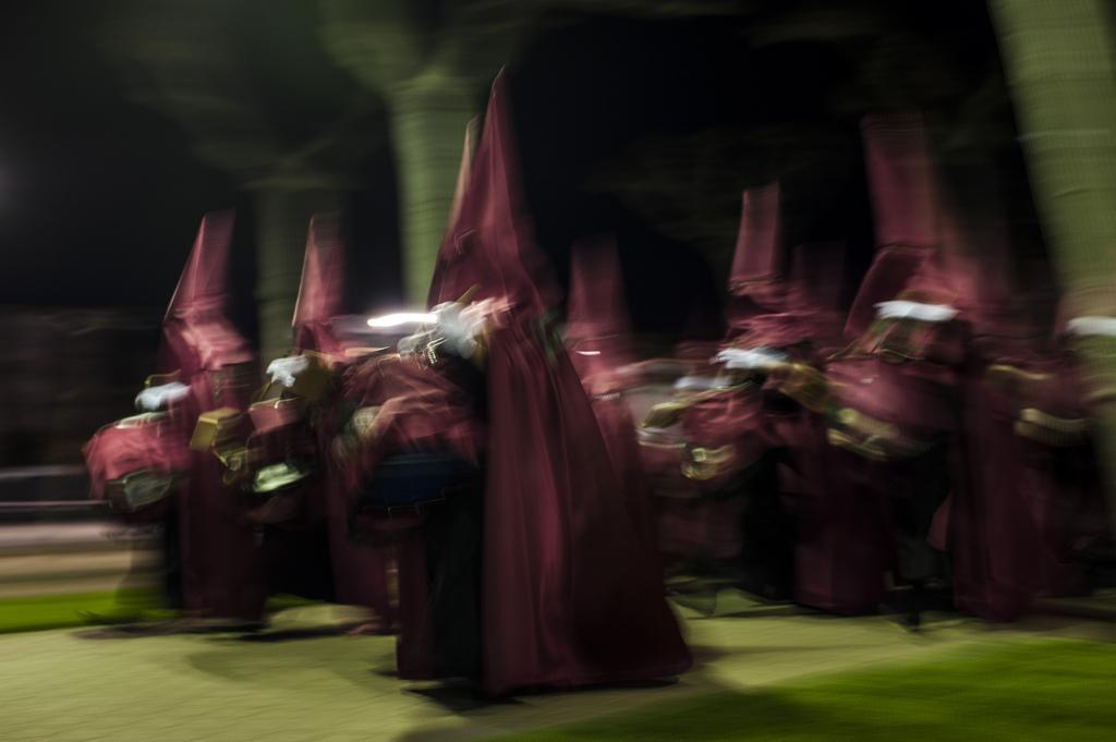 Karwoche in Calahorra, Spanien (Keystone/AP Photo/Alvaro Barrientos)